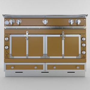 3D 120 ovens la cornue model