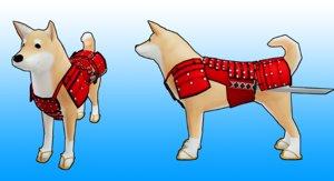 samurai dogs model