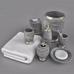 bath accessory model
