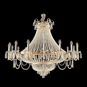 3D classic ceiling light