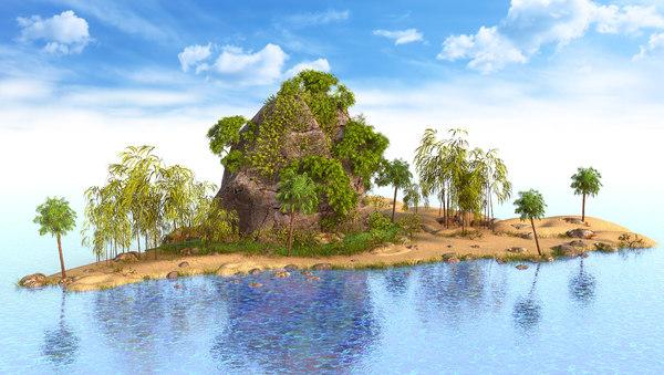 3D rock thailand thai