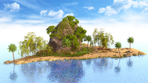 3D rock thailand thai