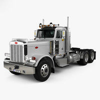 359 tractor 2004 3D model