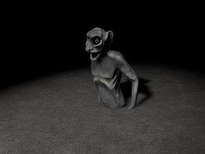 notre dame gargoyle model