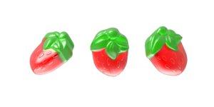 3D marmalade raspberry