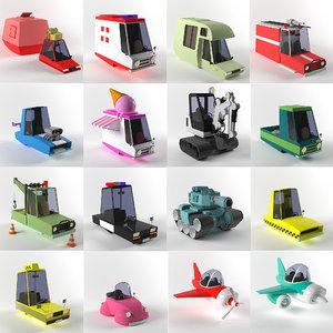3D transport sport model