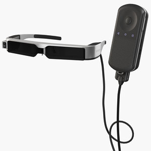epson moverio bt-300 controller 3D model