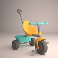bicycle child 3D model