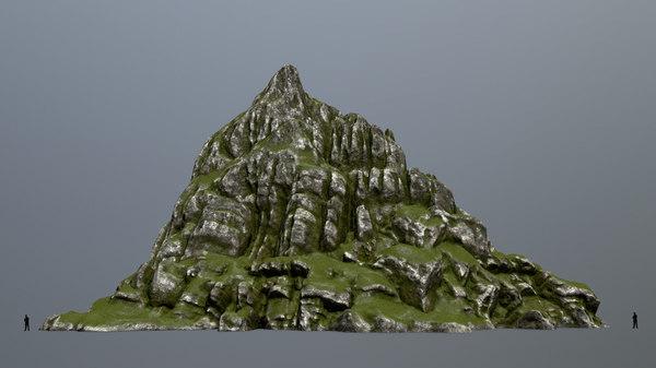mount mountain 3D
