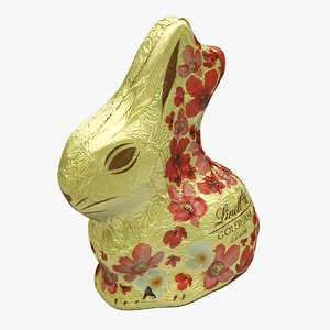 3D model easter chocolate bunny