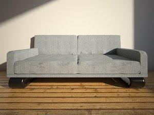 simple sofa interior 3D