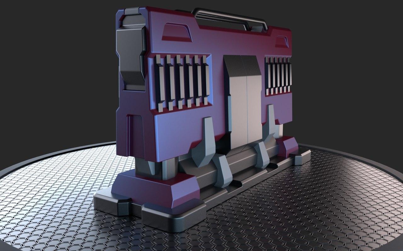 3D sci-fi bump stop