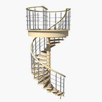 3D model spiral 2