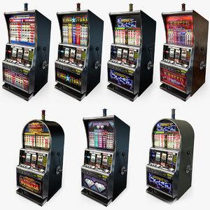 3D casino slot