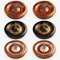 Casino - Roulette Wheels