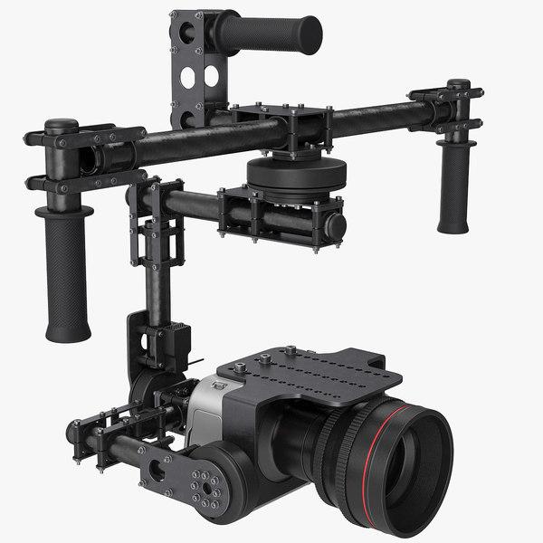 handheld gimbal camera model