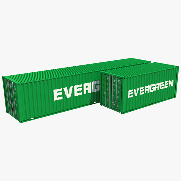 3D model container 3