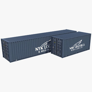 3D container 4 model