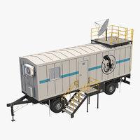 trailer cabin 1 3D