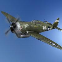 Republic P-47D Thunderbolt - WR-U