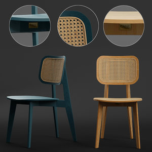 cane dining chair model