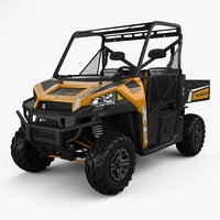 3D model polaris ranger xp