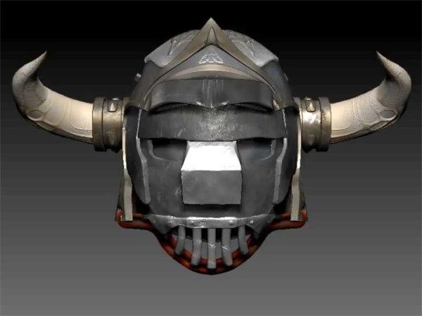 gladiator helm model