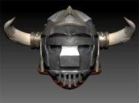 Gladiator Helm HighPoly 3D model