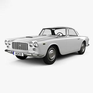 3D lancia flaminia 1963