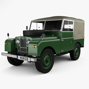 land rover series 3D model