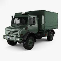 mercedes-benz unimog u5000 3D model