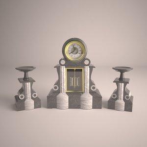3D clock type napoleon