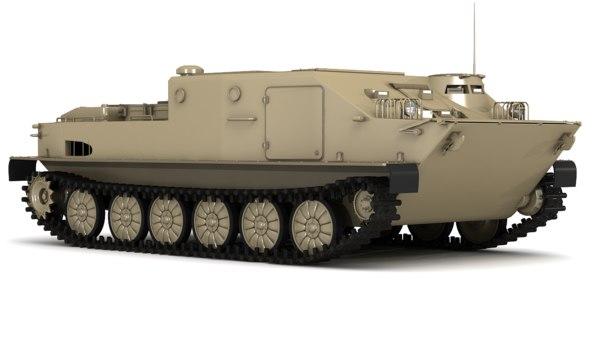 3D soviet btr-50