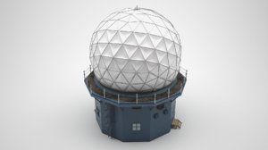 radome antenna 3D