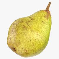taylors gold pear 01 3D model