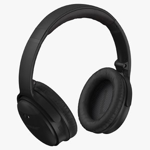 3D bose headphones model