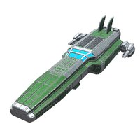 space fighter model