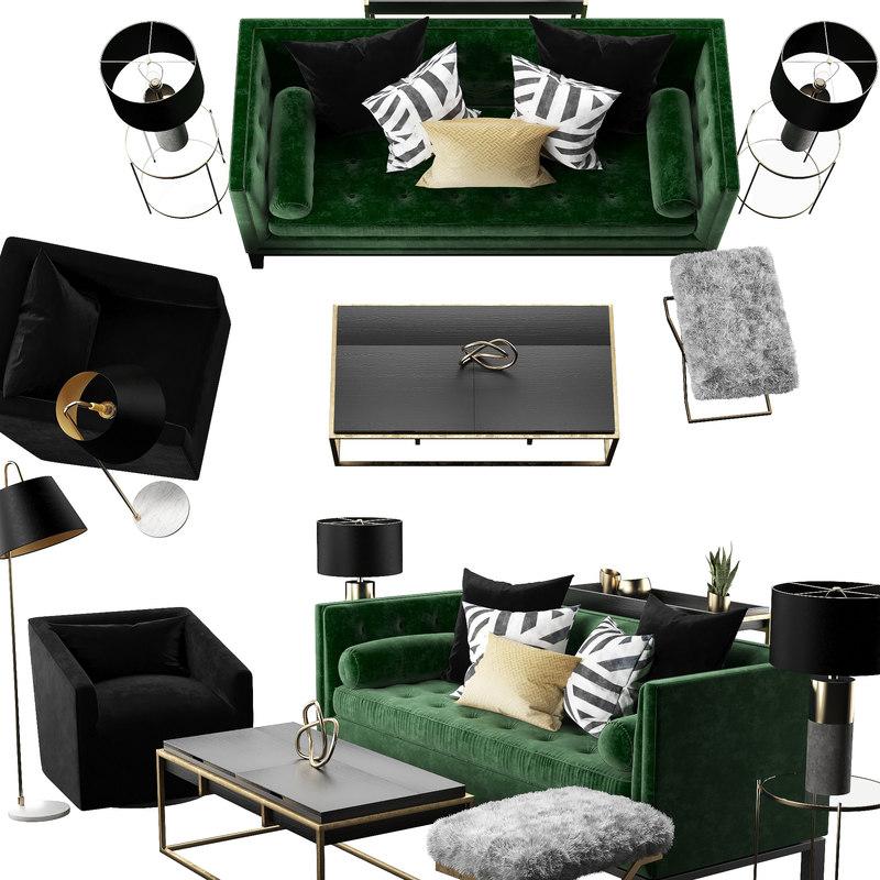 sofa set model