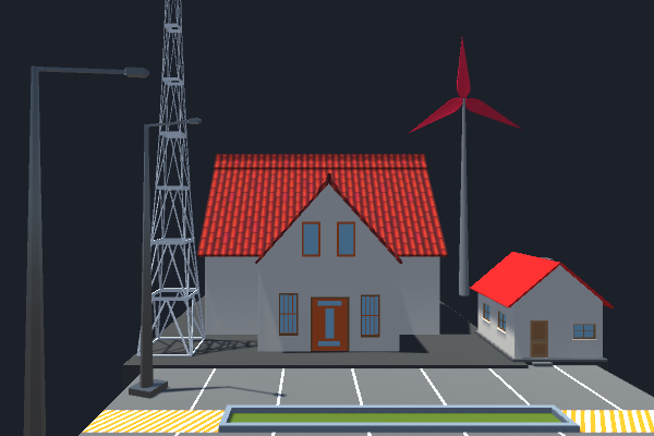 casa lamparas 3D model