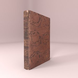 old book model