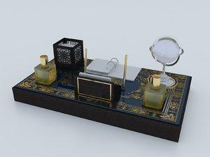 3D desk set calendar