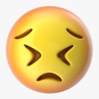 3D emoji face n