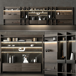 bookcase rack model