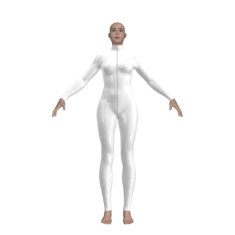 Sansar Marvelous Designer Bodysuit 1