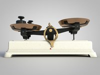 balance vintage scales model