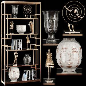 decorative set 43 3D model