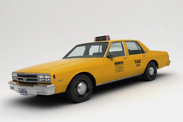 chevrolet impala taxi 3D model