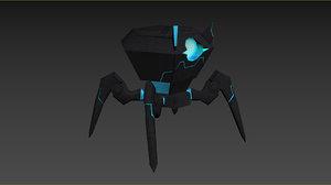 enemy klaksozavr 3D model
