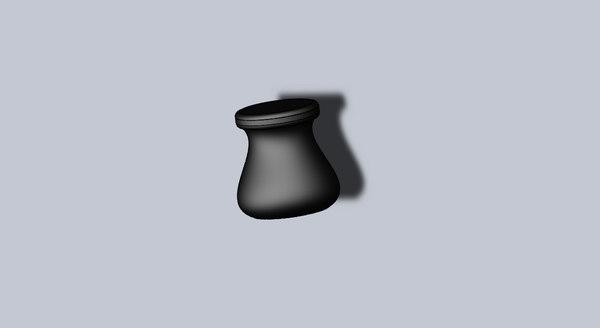 3D model tabouret