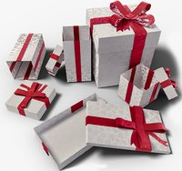 3D gifts box